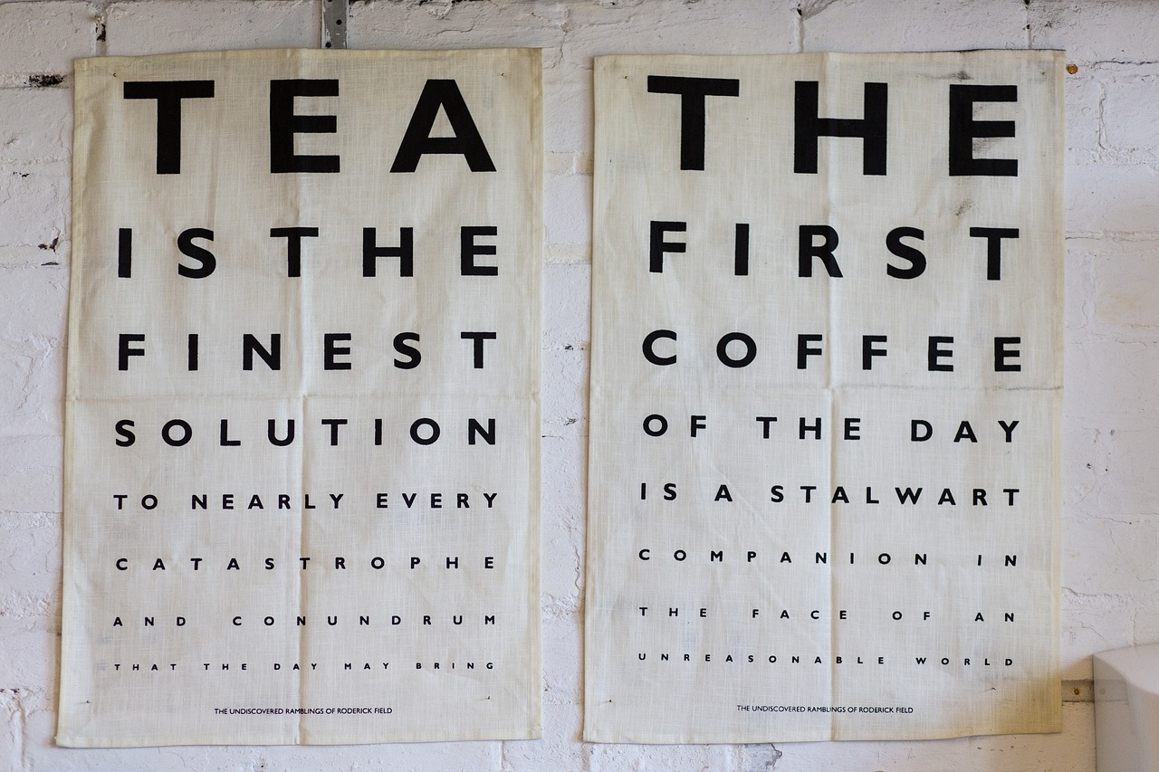 Tea and Coffee Poster Quotes