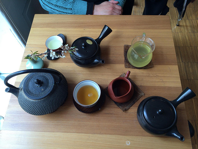 Traditional Japanese teaware