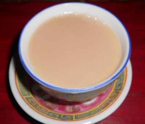 A creamy cup of butter tea - CC