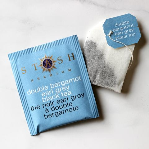 Stash earl grey teabag and case